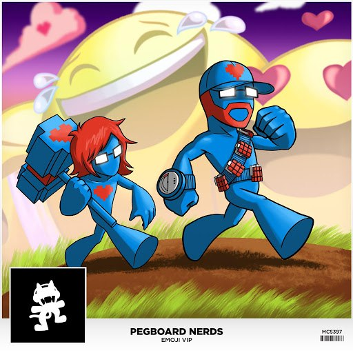 Pegboard Nerds альбом Emoji VIP