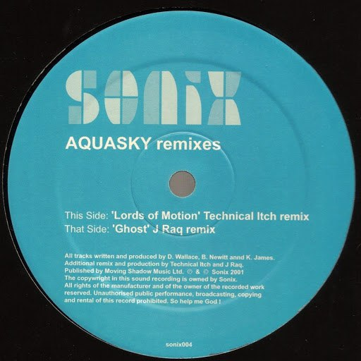Aquasky альбом Lords of Motion / Ghost (Remixes)