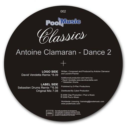 Antoine Clamaran альбом Dance 2