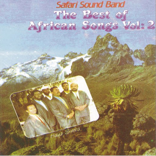 Safari Sound Band альбом The Best of African Songs Vol 2