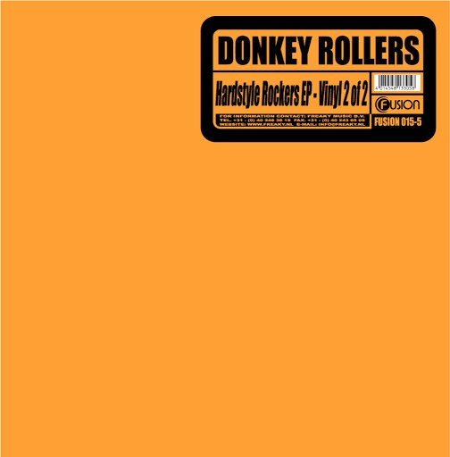 Donkey Rollers альбом Hardstyle Rockers EP 2