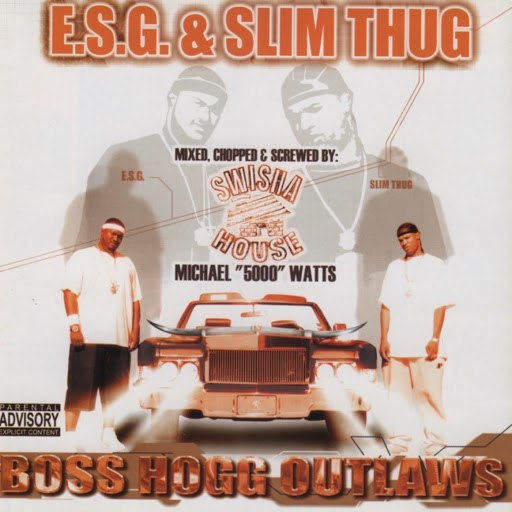 Slim Thug альбом Boss Hogg Outlaws (Mixed, Chopped & Screwed)