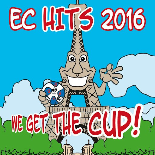 Football альбом EC Hits 2016 - We Get the Cup