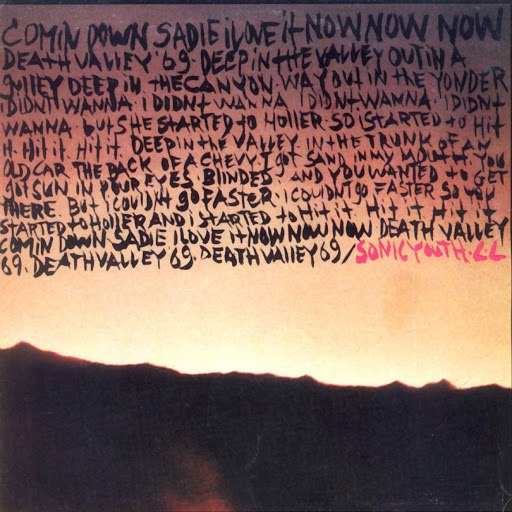 sonic youth альбом Death Valley '69