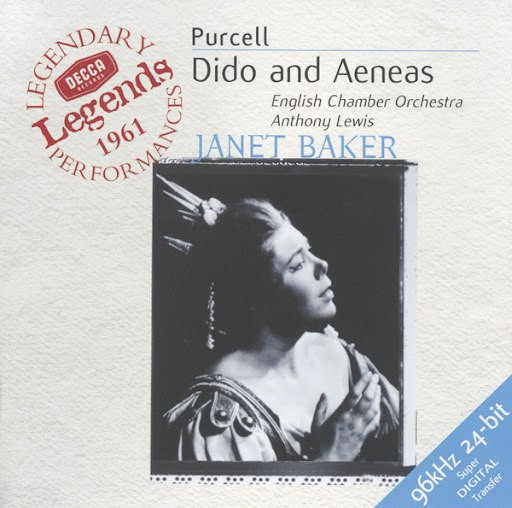 Henry Purcell альбом Purcell: Dido and Aeneas (Legends Series)