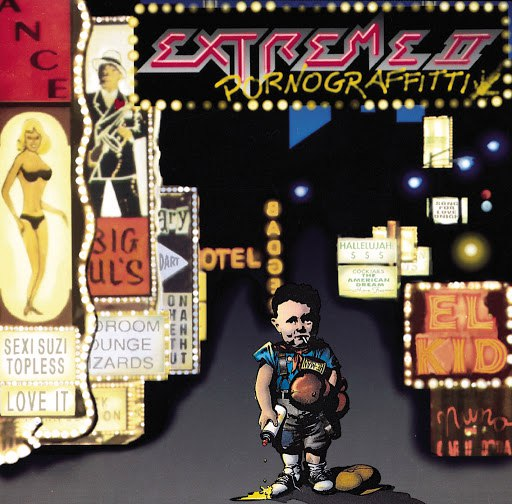Extreme альбом Extreme II - Pornograffitti