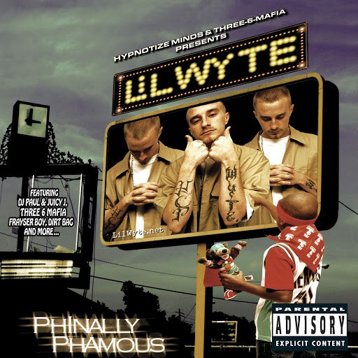 Lil Wyte альбом Phinally Phamous (New Explicit Online Music)