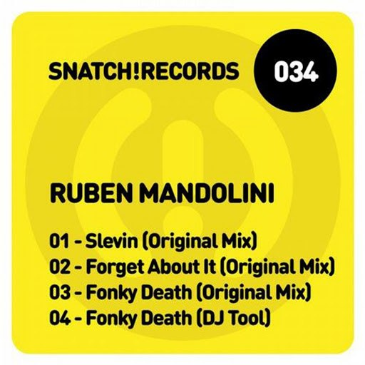 Ruben Mandolini альбом Forget About It EP