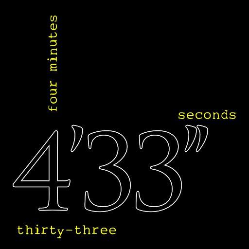 John Cage альбом 4'33''