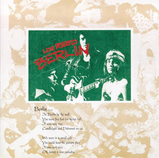 Lou Reed альбом Berlin