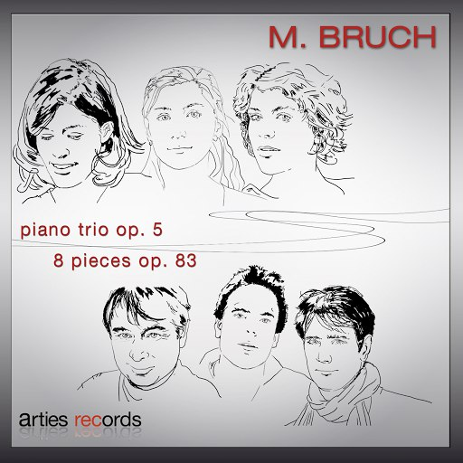 Max Bruch альбом Bruch: Piano trio Op. 5 & 8 pieces, Op. 83