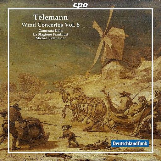 GEORG PHILIPP TELEMANN альбом Telemann: Wind Concertos, Vol. 8
