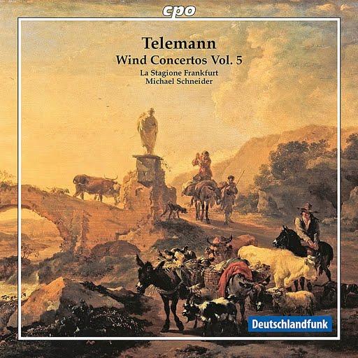 GEORG PHILIPP TELEMANN альбом Telemann: Wind Concertos, Vol. 5