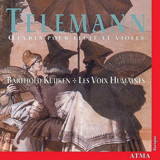 GEORG PHILIPP TELEMANN альбом Oeuvres Pour Flûte Et Violes