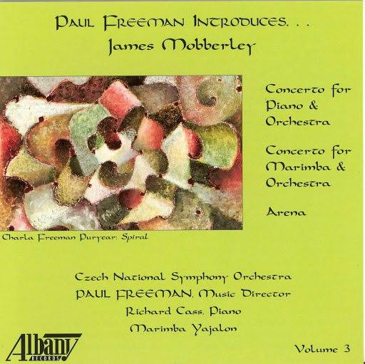 Paul Freeman альбом Mobberley: Piano Concerto / Marimba Concerto / Arena