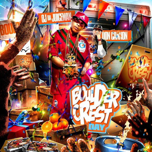 OJ Da Juiceman альбом BoulderCrest Day (No Dj)