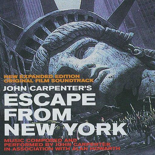 John Carpenter альбом Escape From New York (New Expanded Edition Original Film Soundtrack)