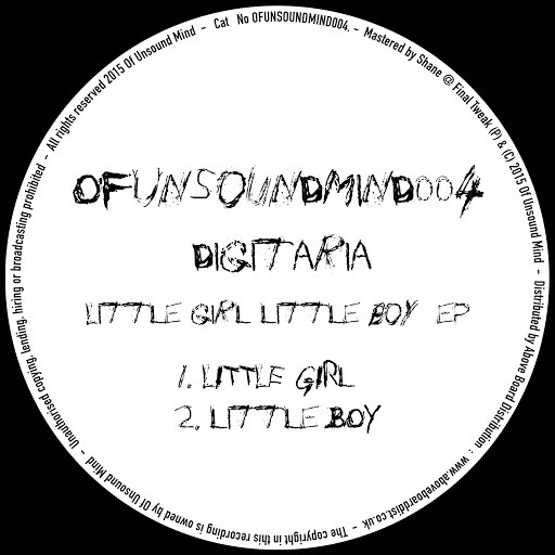 Digitaria альбом Little Girl Little Boy EP