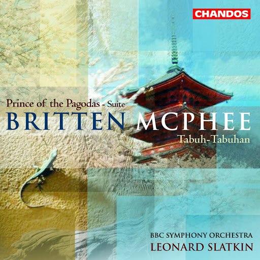 Benjamin Britten альбом Mcphee: Balinese Ceremonial Music / Tabuh-Tabuhan / Britten: Prince of the Pagodas: Suite