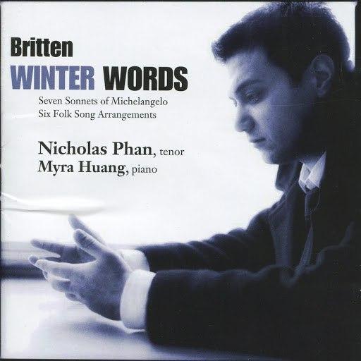 Benjamin Britten альбом Britten: Winter Words