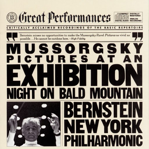 Leonard Bernstein альбом Mussorgsky: Pictures at an Exhibition; Night on Bald Mountain