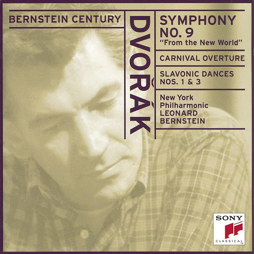 "Leonard Bernstein альбом Dvorák: Symphony No. 9 in E Minor, Op. 95 ""From the New World"""
