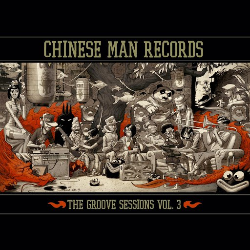 Chinese Man альбом The Groove Sessions, Vol. 3