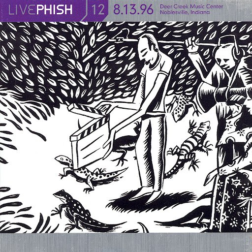 Phish альбом LivePhish, Vol. 12 8/13/96 (Deer Creek Music Center, Noblesville, IN)