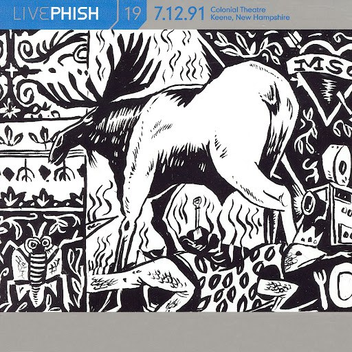 Phish альбом LivePhish, Vol. 19 7/12/91 (Colonial Theatre, Keene, NH)