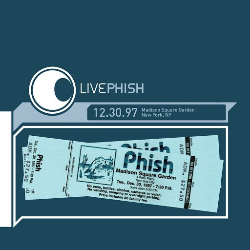 Phish альбом LivePhish 12/30/97 Madison Square Garden, New York, NY