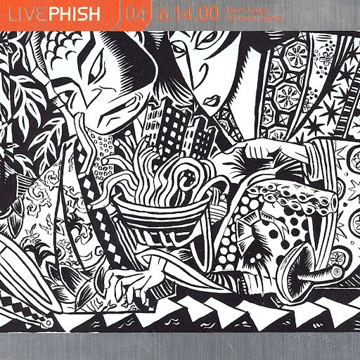 Phish альбом LivePhish, Vol. 4 6/14/00 (Drum Logos, Fukuoka, Japan)
