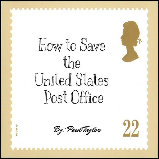 Paul Taylor альбом How to Save the United States Post Office - EP