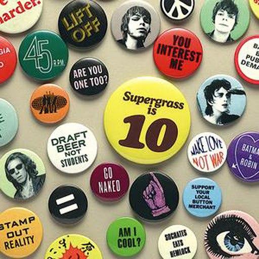 Supergrass альбом Supergrass Is 10: Best Of 1994-2004