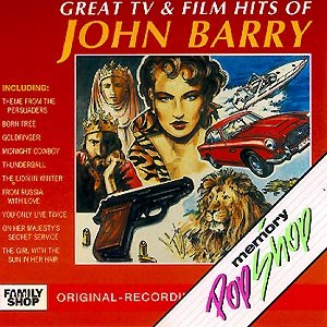John Barry альбом Great TV and Film Hits