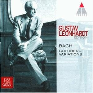 Johann Sebastian Bach альбом Goldberg Variations