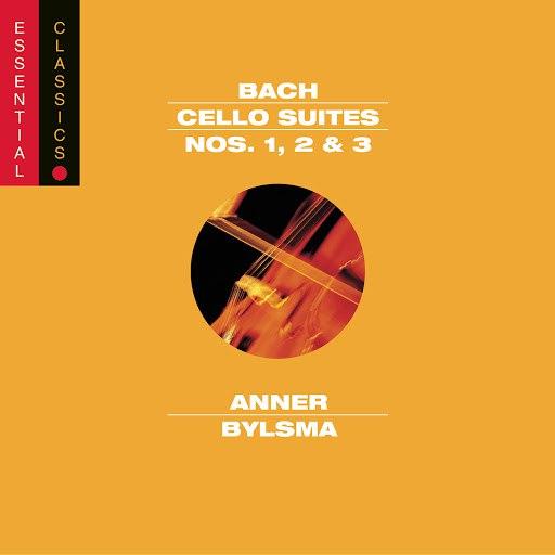 Anner Bylsma альбом Bach: Cello Suites Nos. 1, 2 & 3 (Vol. 1)
