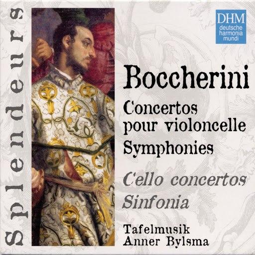 Anner Bylsma альбом Boccherini: Cellokonzerte / Sinfonien