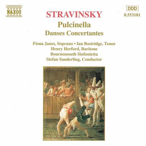 Bournemouth Sinfonietta альбом Stravinsky: Pulcinella & Danses concertantes