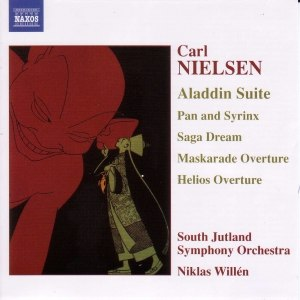 Carl Nielsen альбом NIELSEN: Aladdin Suite / Pan and Syrinx / Helios Overture