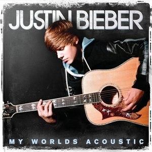 Justin Bieber альбом My Worlds Acoustic