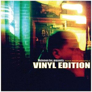 Panik альбом Vinyl Edition Instrumentals