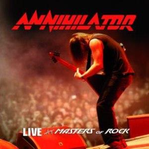 Annihilator альбом Live at Masters of Rock