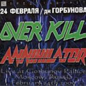 Annihilator альбом 2000-02-24: Moscow, Russia