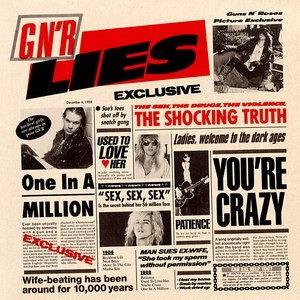 Guns N' Roses альбом G N' R Lies