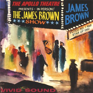 James Brown альбом Live At the Apollo