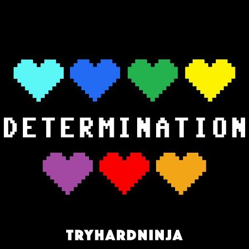 TryHardNinja альбом Determination