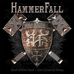HammerFall альбом Steel Meets Steel - 10 Years of Glory