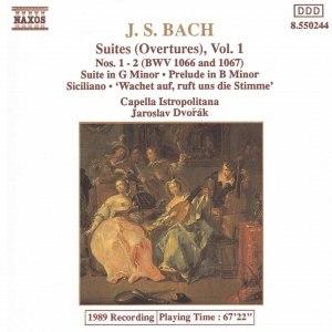 Johann Sebastian Bach альбом BACH, J.S.: Orchestral Suites Nos. 1 and 2, BWV 1066-1067