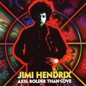 Jimi Hendrix альбом AXIS: Bolder Than Love