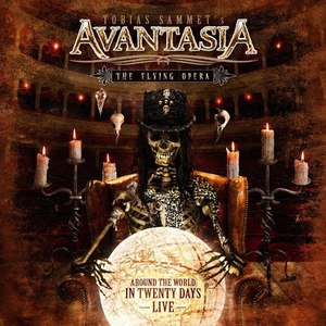 Avantasia альбом The Flying Opera - Around The World In 20 Days